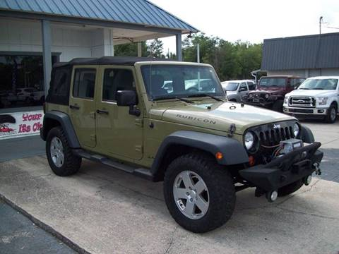 2013 Jeep Wrangler Unlimited for sale in St Augustine, FL