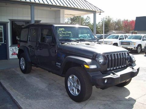 2018 Jeep Wrangler Unlimited for sale in St Augustine, FL