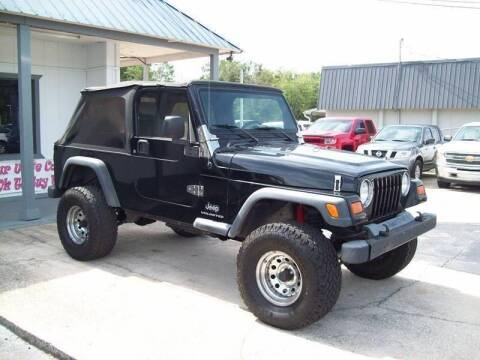 2005 Jeep Wrangler Unlimited for sale at LONGSTREET AUTO in St Augustine FL