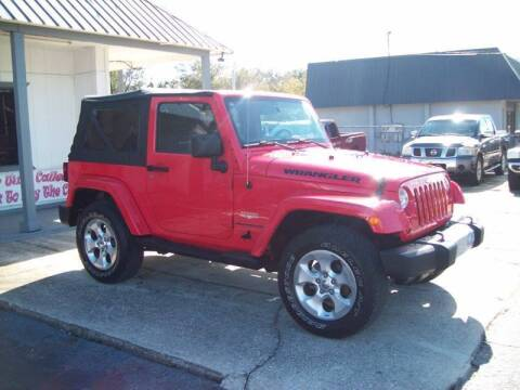 2013 Jeep Wrangler Sahara for sale at LONGSTREET AUTO in St Augustine FL