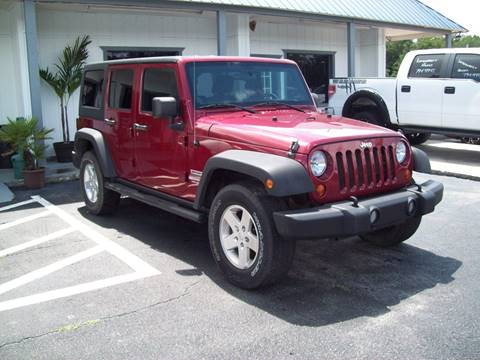 2012 Jeep Wrangler Unlimited Sport for sale at LONGSTREET AUTO in St Augustine FL