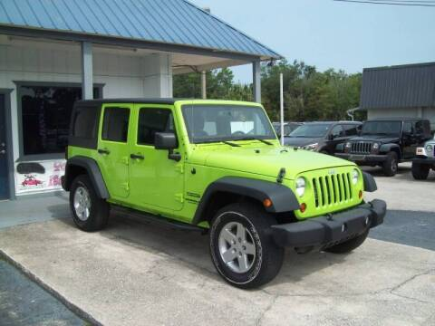 2013 Jeep Wrangler Unlimited for sale at LONGSTREET AUTO in St Augustine FL