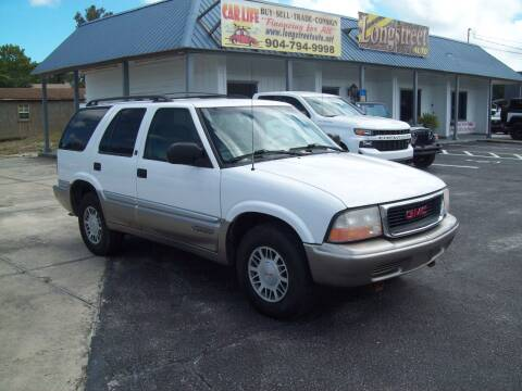 2001 GMC Jimmy for sale at LONGSTREET AUTO in St Augustine FL