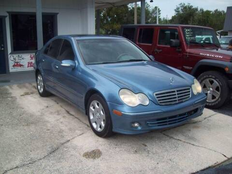 2005 Mercedes-Benz C-Class for sale at LONGSTREET AUTO in St Augustine FL