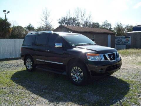 2015 Nissan Armada for sale at LONGSTREET AUTO in St Augustine FL