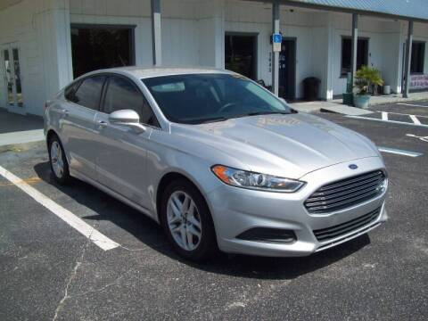 2016 Ford Fusion for sale at LONGSTREET AUTO in St Augustine FL
