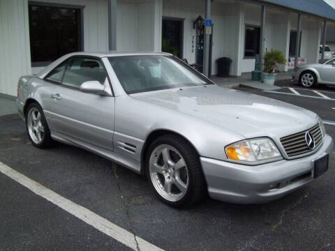 2001 Mercedes-Benz SL-Class for sale at LONGSTREET AUTO in St Augustine FL