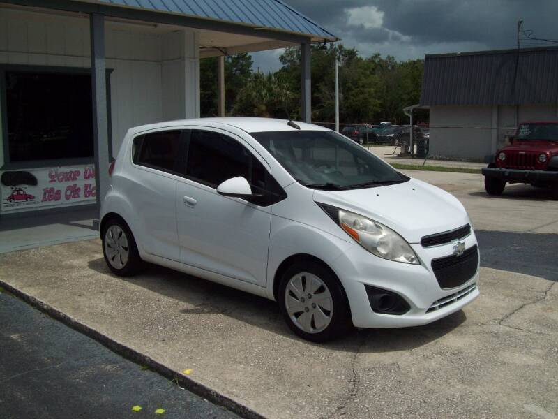 2013 Chevrolet Spark for sale at LONGSTREET AUTO in St Augustine FL