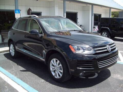 2013 Volkswagen Touareg for sale at LONGSTREET AUTO in St Augustine FL