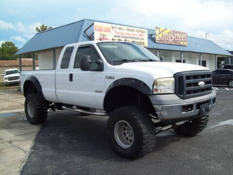 2006 Ford F-350 Super Duty for sale at LONGSTREET AUTO in St Augustine FL