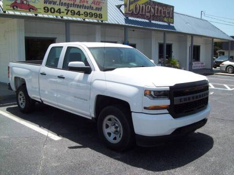 2018 Chevrolet Silverado 1500 for sale at LONGSTREET AUTO in St Augustine FL