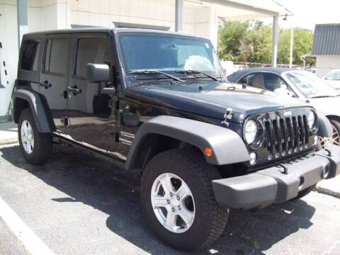 2017 Jeep Wrangler Unlimited for sale at LONGSTREET AUTO in St Augustine FL