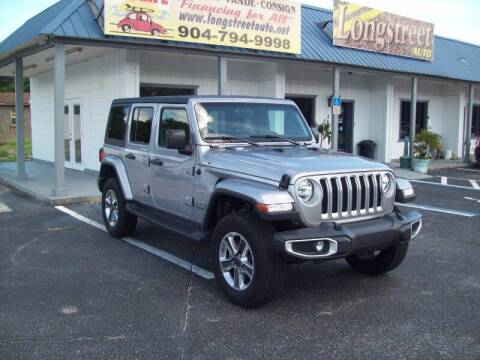 2019 Jeep Wrangler Unlimited for sale at LONGSTREET AUTO in St Augustine FL