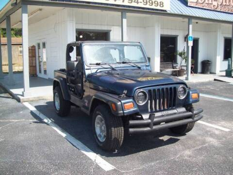 1997 Jeep Wrangler for sale at LONGSTREET AUTO in St Augustine FL