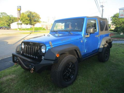 2015 Jeep Wrangler for sale in Worcester, MA