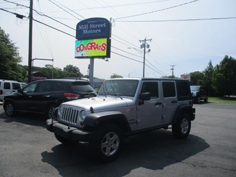 2010 Jeep Wrangler Unlimited for sale in Worcester, MA