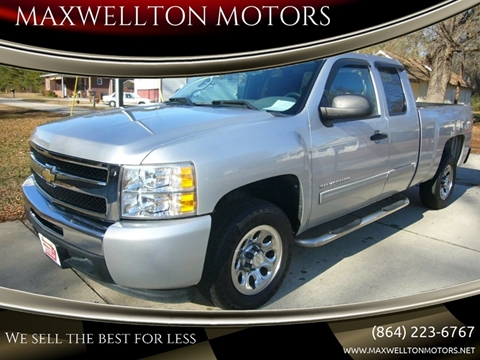 2011 Chevrolet Silverado 1500 for sale in Greenwood, SC