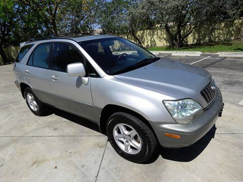 2002 Lexus RX 300 for sale in Pompano Beach, FL