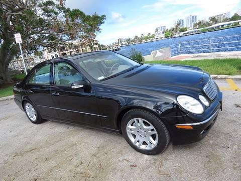 2003 Mercedes-Benz E-Class for sale in Pompano Beach, FL