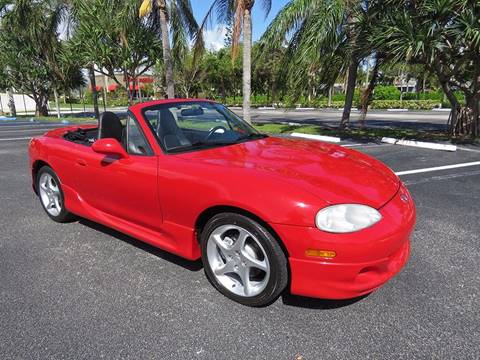 2003 Mazda MX-5 Miata for sale in Pompano Beach, FL