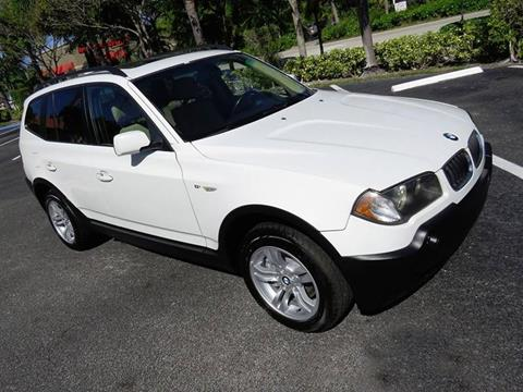 2005 BMW X3 for sale at Silva Auto Sales in Pompano Beach FL