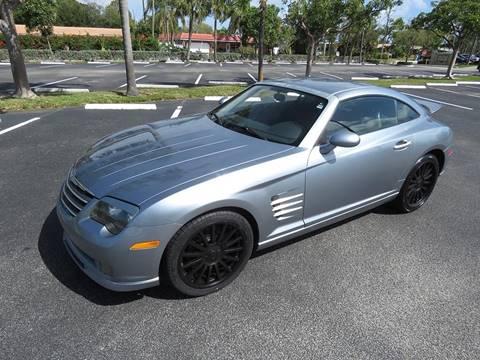 Chrysler crossfire srt6 for sale