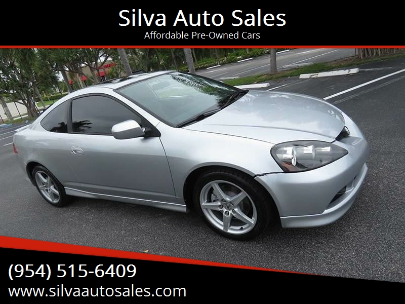 Acura Rsx TypeS Dr Hatchback In Pompano Beach FL Silva Auto - 2006 acura rsx type s for sale