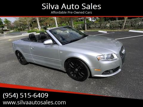 2009 Audi A4 for sale in Pompano Beach, FL