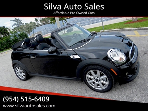 Mini Cooper Convertible Used >> 2012 Mini Cooper Convertible For Sale In Pompano Beach Fl