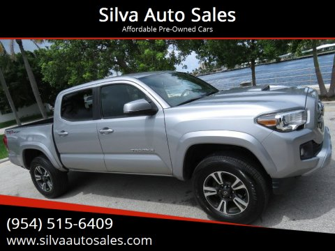 2017 Toyota Tacoma for sale at Silva Auto Sales in Pompano Beach FL