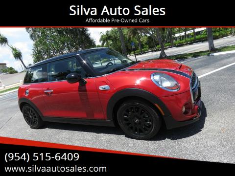 2016 MINI Hardtop 2 Door for sale at Silva Auto Sales in Pompano Beach FL