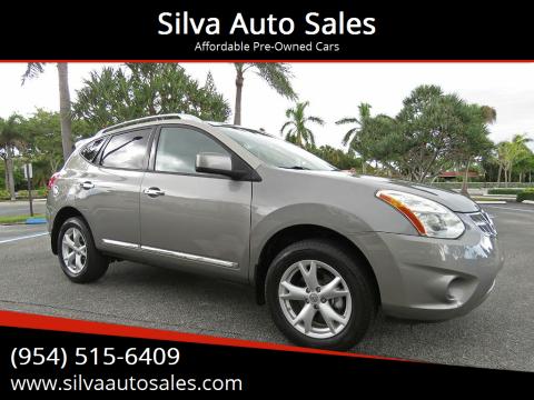 2011 Nissan Rogue for sale at Silva Auto Sales in Pompano Beach FL