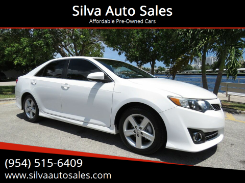 2014 Toyota Camry for sale at Silva Auto Sales in Pompano Beach FL