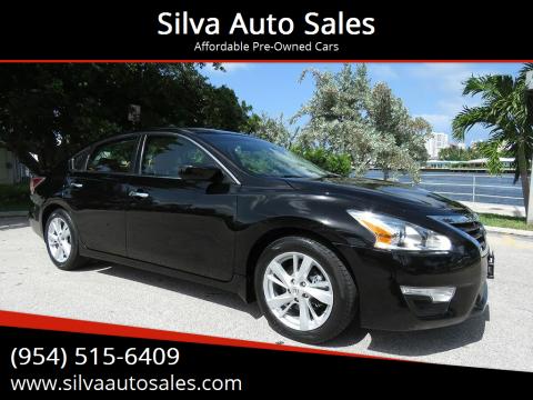 2014 Nissan Altima for sale at Silva Auto Sales in Pompano Beach FL