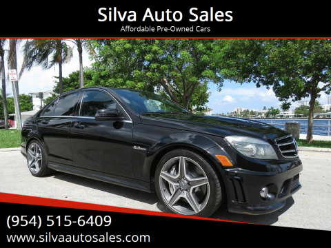 2010 Mercedes-Benz C-Class for sale at Silva Auto Sales in Pompano Beach FL