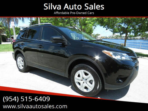 2013 Toyota RAV4 for sale at Silva Auto Sales in Pompano Beach FL