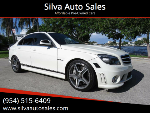 2009 Mercedes-Benz C-Class for sale at Silva Auto Sales in Pompano Beach FL