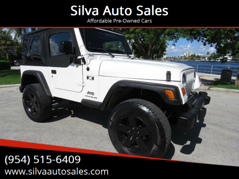 2005 Jeep Wrangler for sale at Silva Auto Sales in Pompano Beach FL