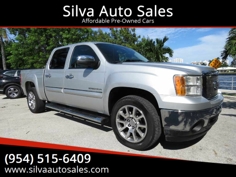 2011 GMC Sierra 1500 for sale at Silva Auto Sales in Pompano Beach FL