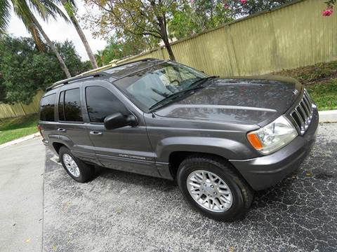 2002 Jeep Grand Cherokee for sale at Silva Auto Sales in Pompano Beach FL