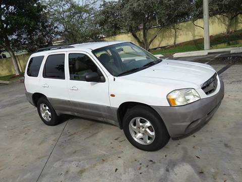 2003 Mazda Tribute for sale at Silva Auto Sales in Pompano Beach FL