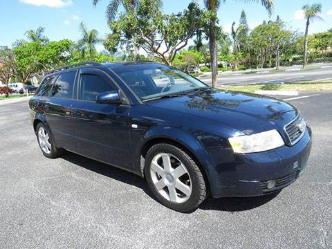 2005 Audi A4 for sale at Silva Auto Sales in Pompano Beach FL