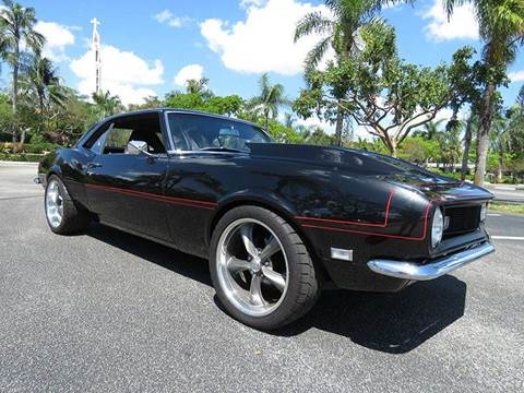1968 Chevrolet Camaro for sale at Silva Auto Sales in Pompano Beach FL