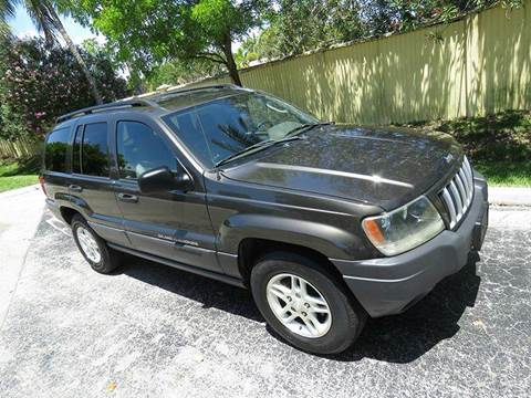 2004 Jeep Grand Cherokee for sale at Silva Auto Sales in Pompano Beach FL