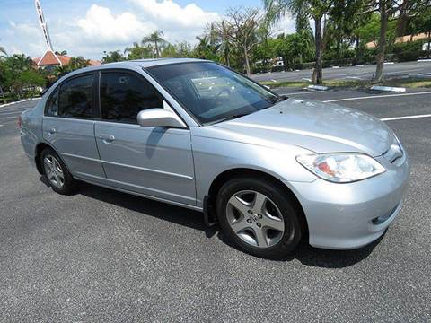 2004 Honda Civic for sale at Silva Auto Sales in Pompano Beach FL