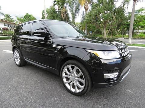 2015 Land Rover Range Rover Sport for sale at Silva Auto Sales in Pompano Beach FL