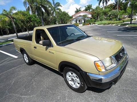1998 Nissan Frontier for sale at Silva Auto Sales in Pompano Beach FL