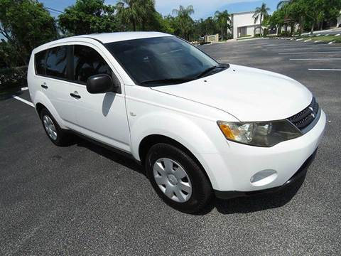 2007 Mitsubishi Outlander for sale at Silva Auto Sales in Pompano Beach FL
