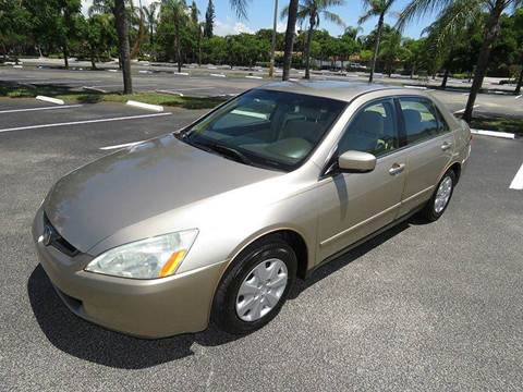 2004 Honda Accord for sale at Silva Auto Sales in Pompano Beach FL