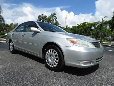 2002 Toyota Camry for sale at Silva Auto Sales in Pompano Beach FL